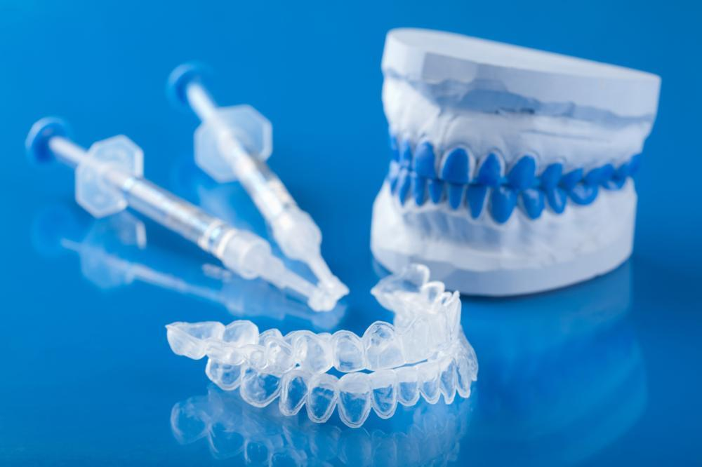 A set of teeth whitening trays | Teeth whitening st paul mn