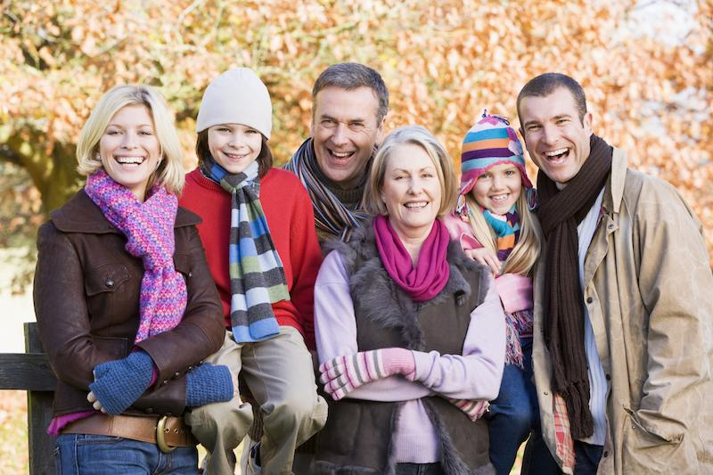 A Family Smiles For A Portrait | Family Dentistry St. Paul, MN